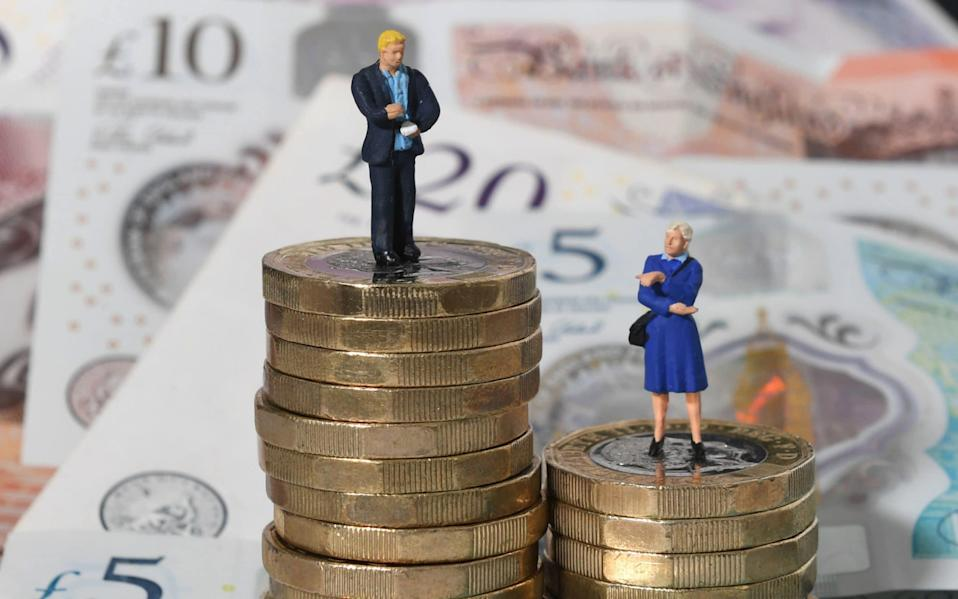 Studies in 2019 showed that slight progress had been made in closing the gender pay gap in the UK in recent years, but the lockdown has stalled this progress - Joe Giddens/PA