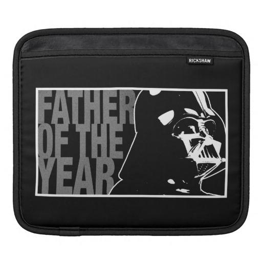 """<p><a href=""""http://www.disneystore.com/star-wars-father-of-the-year-ipad-sleeve-customizable/mp/1375862/1026405/"""">An iPad case</a> for the half-human, half-cyborg who has everything. You can even customize the border and lining colors. Just because you're a bad guy doesn't mean you have to wear black <i>all</i> the time. $46.95</p><p><i>(Photo: <a href=""""http://www.disneystore.com/star-wars-father-of-the-year-ipad-sleeve-customizable/mp/1375862/1026405/"""">Disney Store</a>)</i></p>"""
