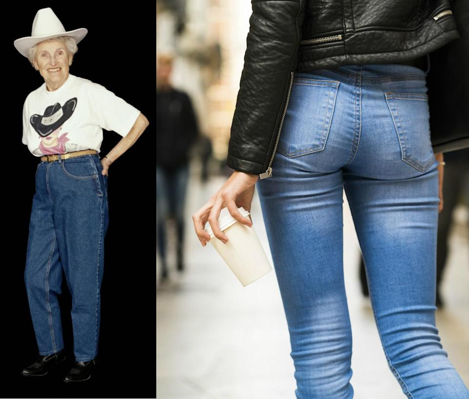 The survey suggests that it's not worthshopping for a new pair of jeans after you turn 53. <em>(Photo: Getty)</em>