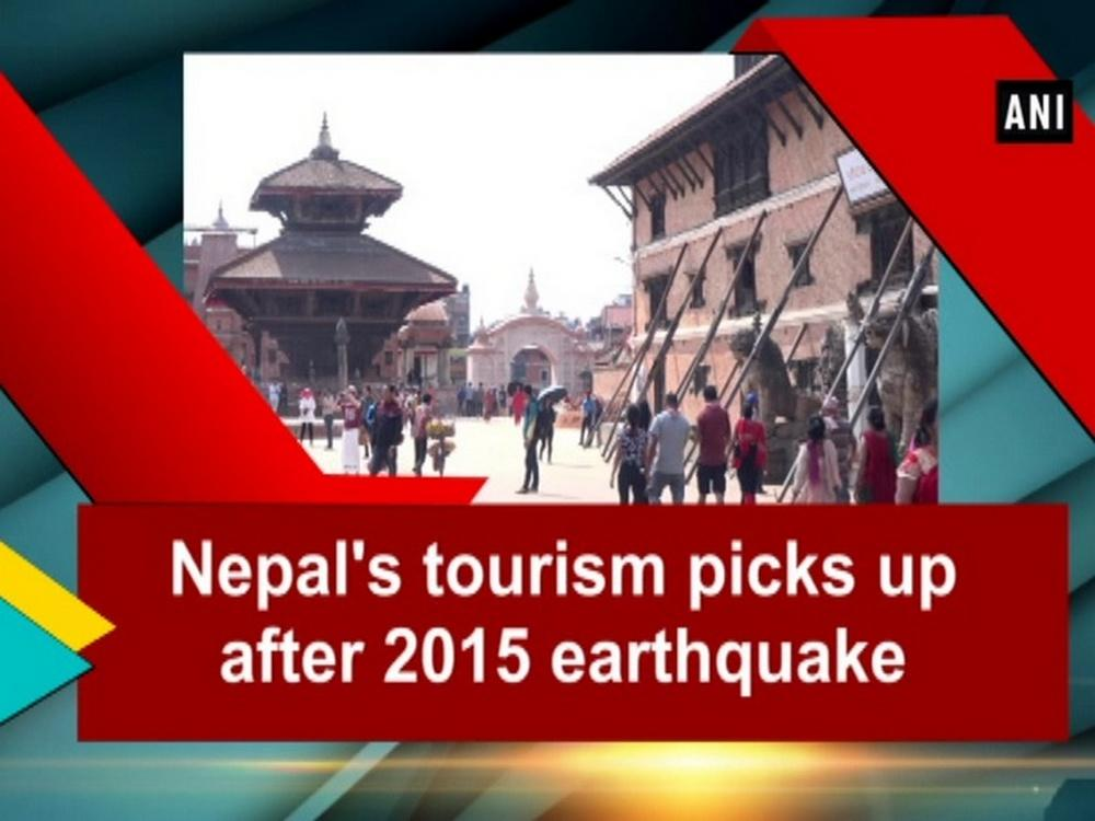 On April 2015, a magnitude of 7.8 earthquake hit Nepal that killed nearly 9,000 people and injured over 20 thousand. The worst natural disaster made hundreds of thousands homeless with entire villages flattened across many districts of the country. Centuries old buildings were destroyed at UNESCO World Heritage Sites in the Kathmandu Valley. The country's tourism industry was badly affected as majority of tourists decided to stay away.  Life is back to normal three years after the devastating earthquake and tourist inflow has been improved. At the World Heritage Site in Bhaktapur city, tourists are visiting the centuries old temples, which were hugely affected by the earthquake. Some of these damaged temples have been restored. The inflow of foreign tourists in Nepal, via both land and air routes, has increased by 14.2 per cent to 288,918 in the first three months of 2018 compared to the same period last year. A majority of tourists in Nepal come from neighboring India, China, Bangladesh, Pakistan and Europe.  According to Nepal Tourism Board, tourist inflow from European nations witnessed growth of 17.2 per cent in January, 16.4 per cent in February and 35.9 per cent in March as compared to the same months last year. Tourism not only helps generate foreign exchange but creates more than 1.02 million jobs directly and indirectly. The industry was expected to create more than 1.32 million jobs directly and indirectly by 2028.