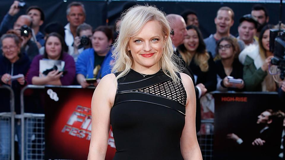 LONDON, ENGLAND - OCTOBER 09:  Elisabeth Moss attends the High-Rise Screening, during the BFI London Film Festival, at Odeon Leicester Square on October 9, 2015 in London, England.