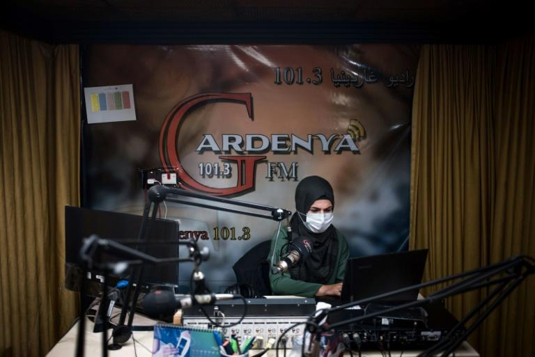 Sherin Mohammad, a journalist with radio station Gardenya FM in Iraq, has dedicated herself to providing reliable information to fellow Syrian refugees on their country's conflict
