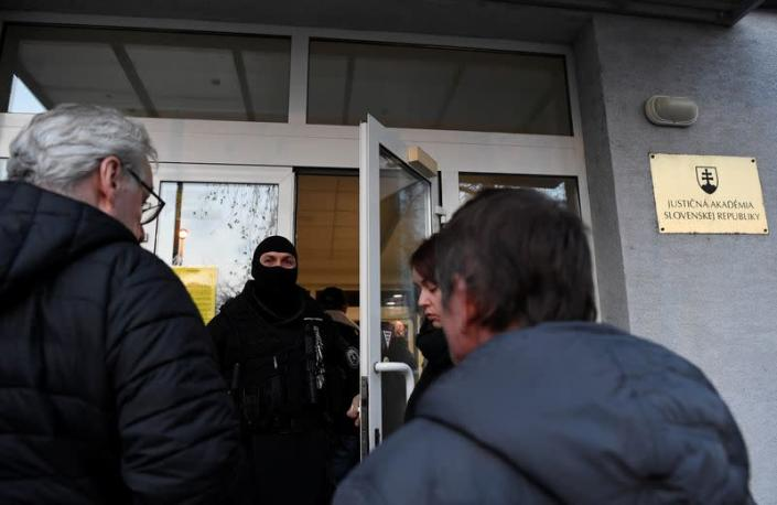 Preliminary hearing on the murders of investigative journalist Jan Kuciak and his fiancee Martina Kusnirova in Pezinok