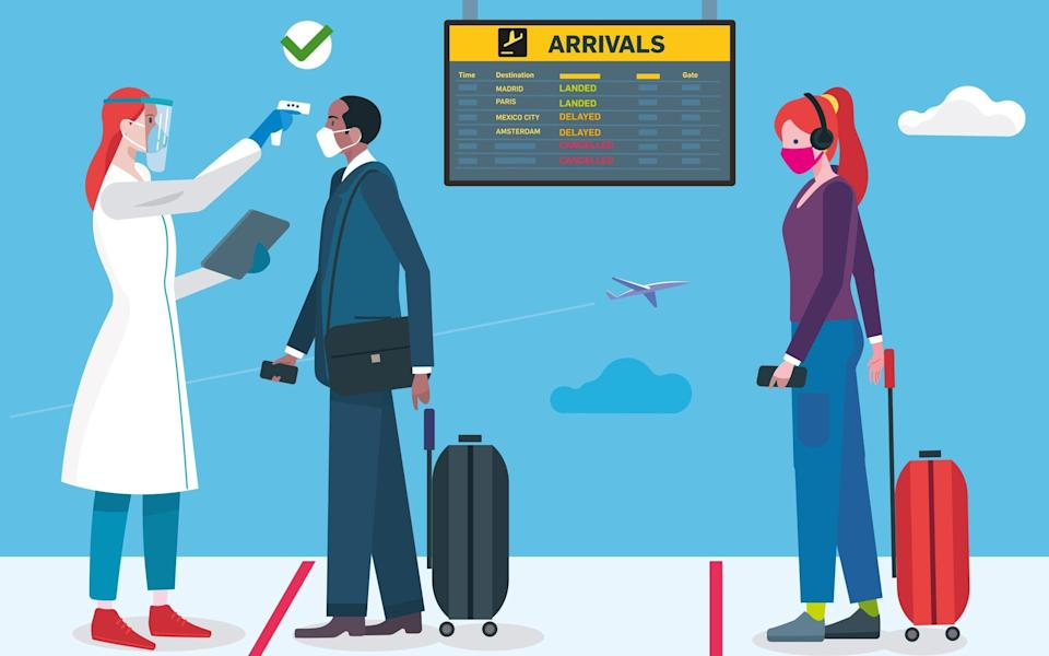 More than half (56 per cent) of the 2,152 adults surveyed found it difficult to understand the current options for travel - Getty