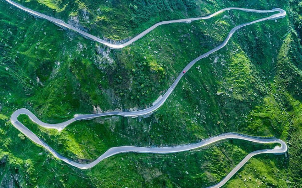 The Furka Pass - Getty