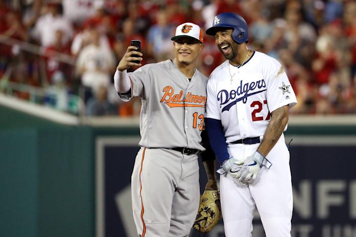 The Orioles traded Manny Machado to the Dodgers right after the 2018 All-Star Game.