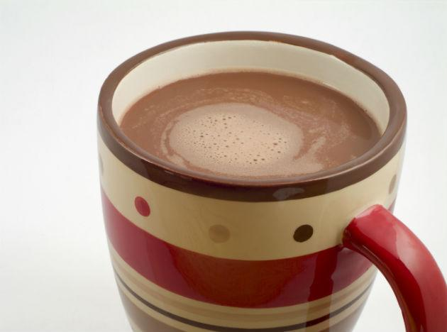 <b>Hot cocoa<br><br>When to Drink: </b>P.M. Snack Hot cocoa (have it over ice if you can't take the heat) has more antioxidants than does coffee, red wine or green tea, a study from Cornell University reveals. Great for your heart and skin.