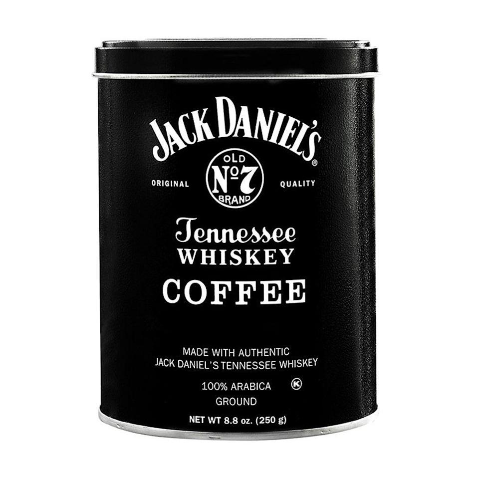 """<p><strong>Jack Daniel's</strong></p><p>walmart.com</p><p><strong>$15.47</strong></p><p><a href=""""https://go.redirectingat.com?id=74968X1596630&url=https%3A%2F%2Fwww.walmart.com%2Fip%2FJack-Daniel-s-Tennessee-Whiskey-Ground-Coffee-8-8oz-Can%2F929900576&sref=https%3A%2F%2Fwww.bestproducts.com%2Flifestyle%2Fg2077%2Fbest-christmas-gifts-ideas-for-men%2F"""" rel=""""nofollow noopener"""" target=""""_blank"""" data-ylk=""""slk:Shop Now"""" class=""""link rapid-noclick-resp"""">Shop Now</a></p><p>Looking for a Christmas gift to surprise a guy who loves both whiskey and coffee? Kill two birds with one stone with this delicious Jack Daniel's Tennessee Whiskey Coffee. It's infused with plenty of whiskey flavor for added richness, but with none of the alcohol (meaning this java won't actually get you buzzed).</p>"""