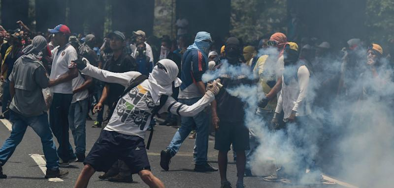 Student Shot and Killed at 'Mother of All Protests' in Venezuela
