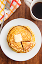 """<p>There's nothing like a big stack of <a href=""""https://www.delish.com/uk/cooking/recipes/a30413750/perfect-pancakes-recipe/"""" rel=""""nofollow noopener"""" target=""""_blank"""" data-ylk=""""slk:pancakes"""" class=""""link rapid-noclick-resp"""">pancakes</a> for breakfast—they're a breakfast staple! Just because you're on the Keto diet doesn't mean you've gotta miss out on the joys of pancakes. This recipe is super easy and will definitely satisfy your craving.</p><p>Get the <a href=""""https://www.delish.com/uk/cooking/recipes/a28886175/keto-pancakes-recipe/"""" rel=""""nofollow noopener"""" target=""""_blank"""" data-ylk=""""slk:Keto Pancakes"""" class=""""link rapid-noclick-resp"""">Keto Pancakes</a> recipe.</p>"""