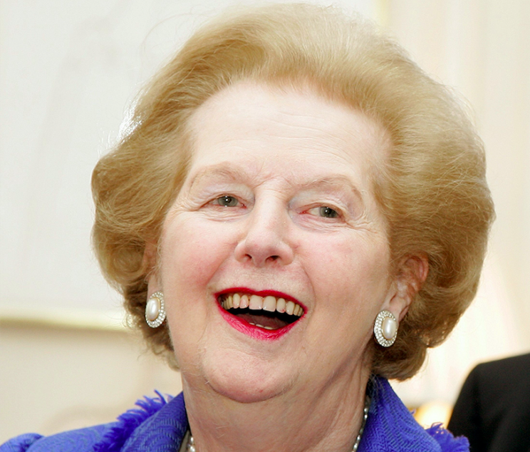 Theresa May is compared favourably to Margaret Thatcher (Rex)
