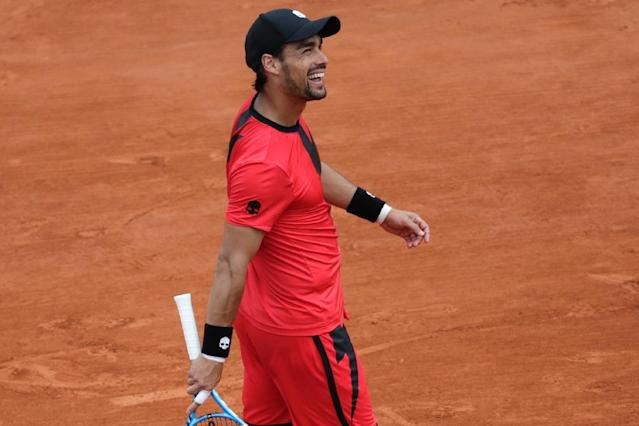 NextGen? What a load of rubbish: Fabio Fognini lashed out at the youngsters (AFP Photo/Thomas SAMSON)