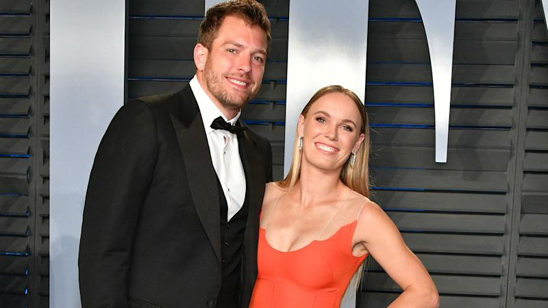 Caroline Wozniacki marries David Lee in Italy