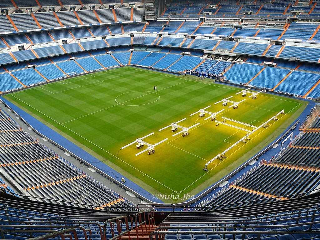 It is hard to envisage the enormous size of the Real Madrid stadium before visiting it, and I am sure even not so die-hard fans will appreciate the panoramic views once inside. The best way to see the stadium is to take a Real Madrid tour, which takes you behind the scenes.