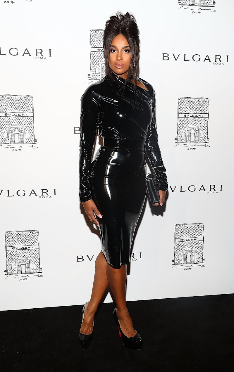 Ciara at Bulgari opening