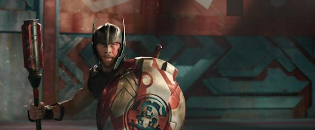 Chris Hemsworth as Thor in <em>Thor: Ragnarok.</em> (Photo: Walt Disney Studios Motion Pictures/Marvel Studios)