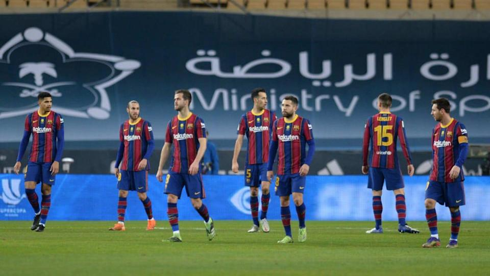 El FC Barcelona se vio superado por el Athletic Club | CRISTINA QUICLER/Getty Images
