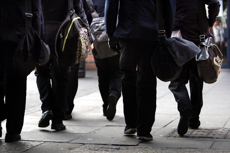 Police are warning secondary school pupils not to gather on pavements and block shops: PA Wire/PA Images
