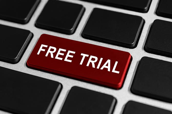 """A free trial is great, but not when it automatically signs you up for something you don't really want. Most of these deals require that you be proactive and cancel the subscription or service by a certain date, or the billing will begin.<br /><br /><a href=""""https://www.spotify.com/us/premium/?utm_source=us-en_brand_contextual_text&utm_medium=paidsearch&utm_campaign=alwayson_ucanz_us_performancemarketing_core-plus_brand+contextual+text+bmm+us-en+google&gclid=CLmZ2sSqwdgCFR4Vfwodt_kMpg&gclsrc=ds"""" target=""""_blank"""" data-rapid-parsed=""""slk"""">Spotify Premium</a>will give you a month free ― and then automatically start billing you $9.99 a month.<a href=""""https://www.amazon.com/gp/help/customer/display.html?nodeId=200444170&tag=thehuffingtop-20"""" target=""""_blank"""" data-rapid-parsed=""""slk"""">Amazon Prime</a> gives you a free month ― before charging your credit card annually.<br /><br />Mark the date the free trial ends and set a calendar reminder for yourself to cancel in time."""