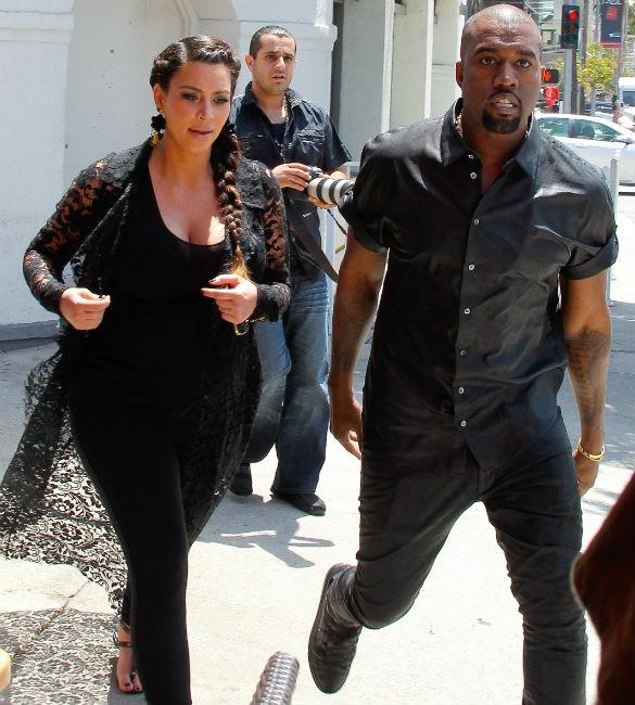 Kim Kardashian, Kanye West And Baby North To Live With Kris Jenner Until February?