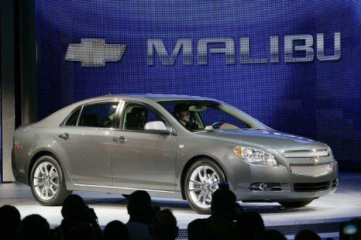 GM recalls 474,000 sedans for transmission problem