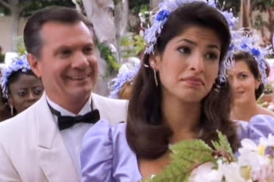 <p>Mendes made a cameo as a bridesmaid in this classic comedy.</p>