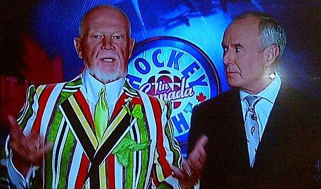 Don Cherry's Game 5 suit was horrifically incredible (Photos)