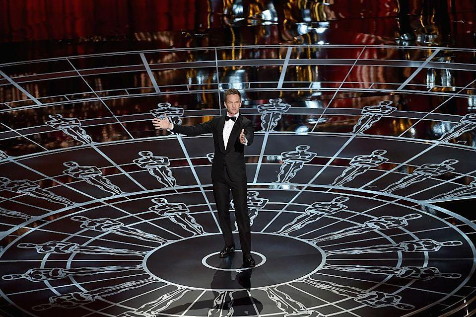 """<p>The musical theatre and TV actor took over hosting duties in 2015 after previously successful stints hosting the Tony and Emmy awards. The reaction to his stint was mixed (the <a href=""""https://www.theguardian.com/film/2015/feb/23/neil-patrick-harris-oscars-host-fails-deliver"""" rel=""""nofollow noopener"""" target=""""_blank"""" data-ylk=""""slk:Guardian"""" class=""""link rapid-noclick-resp"""">Guardian</a> said he 'failed to deliver') but he was praised for his musical numbers and appeared in underwear to honour Best Picture winner Birdman.</p>"""