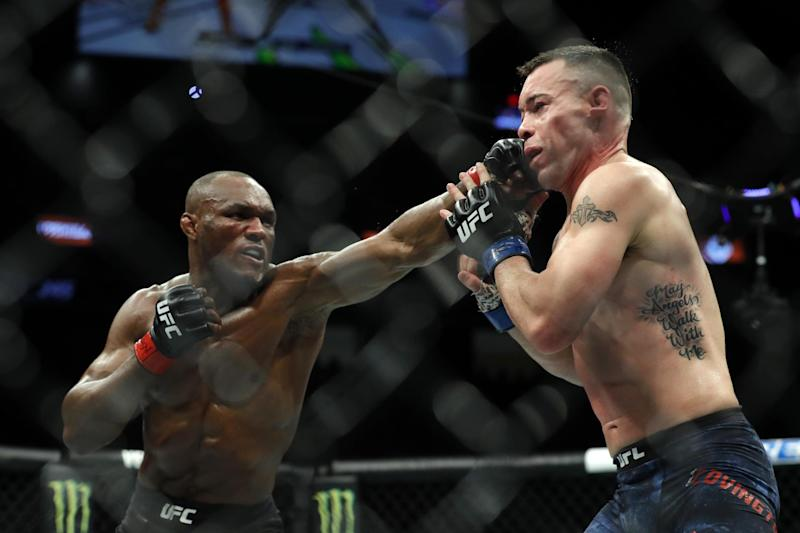 Usman still undefeated in UFC after fifth round TKO: Getty Images