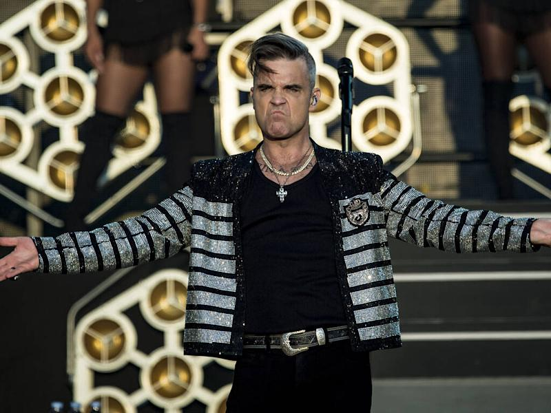 Robbie Williams credits Elton John for sobriety