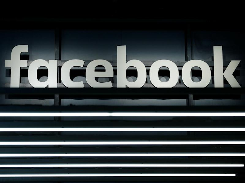 A Facebook logo is pictured at the Frankfurt Motor Show (IAA) in Frankfurt, Germany September 16, 2017: REUTERS/Ralph Orlowski