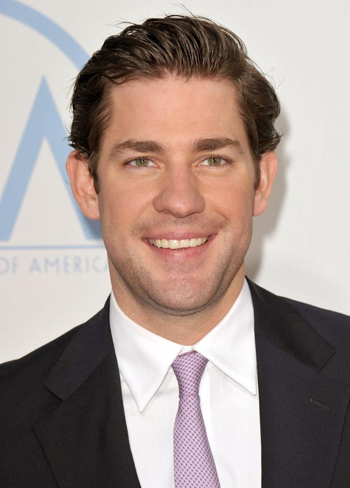"""<p>At the height of his fame from <strong>The Office</strong>, Krasinski was <a href=""""http://www.mtv.com/news/2596227/chris-evans-joins-captain-america-casting-pool-john-krasinski-out-of-the-running/"""" target=""""_blank"""" class=""""ga-track"""" data-ga-category=""""Related"""" data-ga-label=""""http://www.mtv.com/news/2596227/chris-evans-joins-captain-america-casting-pool-john-krasinski-out-of-the-running/"""" data-ga-action=""""In-Line Links"""">widely rumored to be the front-runner</a> for the role of Steve Rogers, the stouthearted everyman-turned-supersoldier. </p>"""