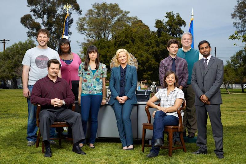 The cast ofParks and Recreation   Mitchell Haaseth/NBC/NBCU Photo Bank via Getty