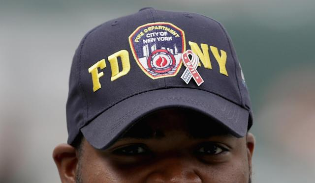 <p>A detailed view of a hat prior to the game between the Cincinnati Bengals and New York Jets at MetLife Stadium on September 11, 2016 in East Rutherford, New Jersey. (Photo by Streeter Lecka/Getty Images) </p>