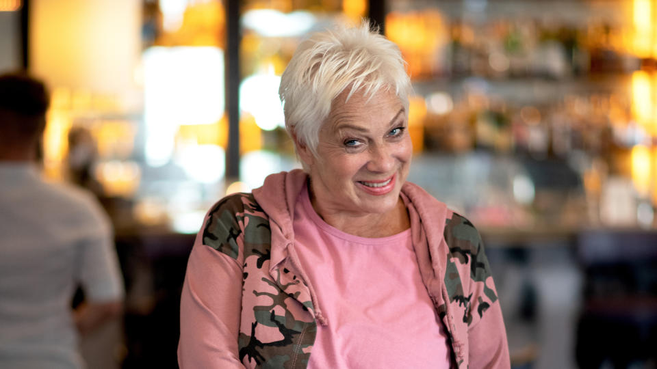 Denise Welch poses for a photo during the