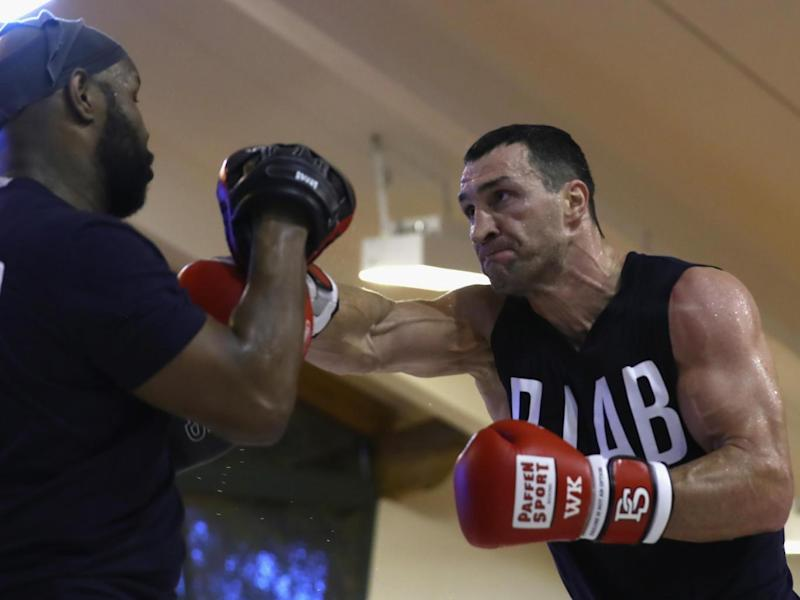 Klitschko admitted he is 'obsessed' in reclaiming his titles (Getty)