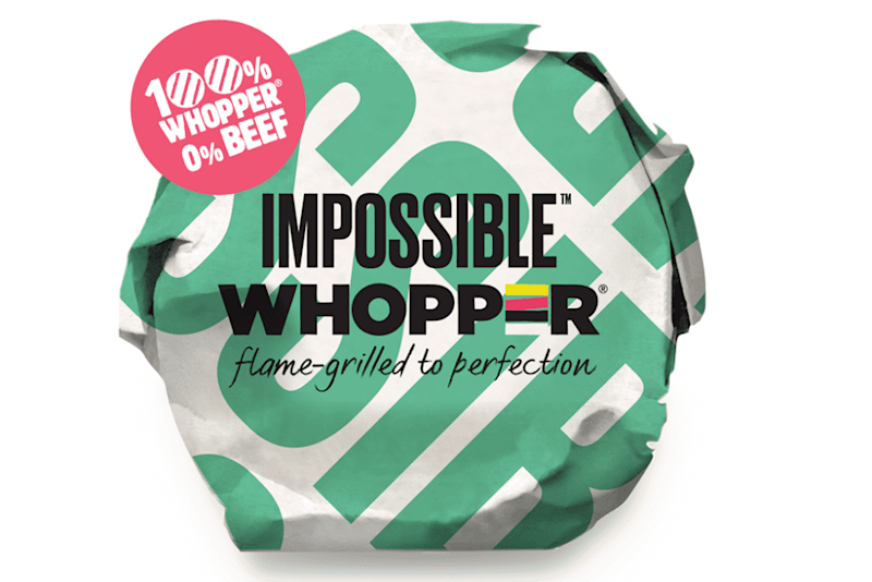 Burger King to Launch Impossible Whoppers Nationwide