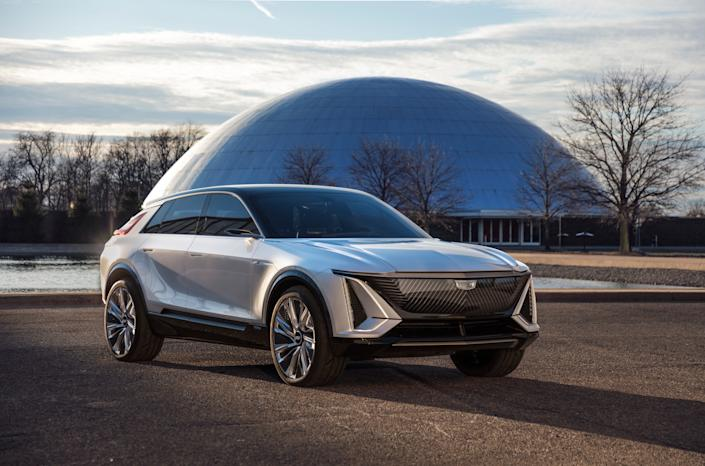 "<div class=""caption""> The Lyriq has hopes to compete in an increasingly crowded field of battery-powered SUVs. </div>"