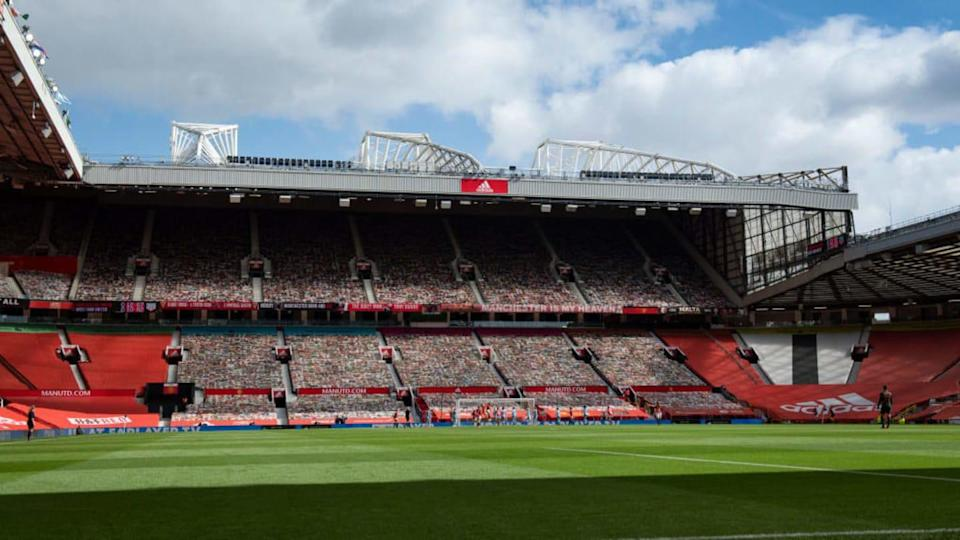 Premier League no Old Trafford. | Visionhaus/Getty Images