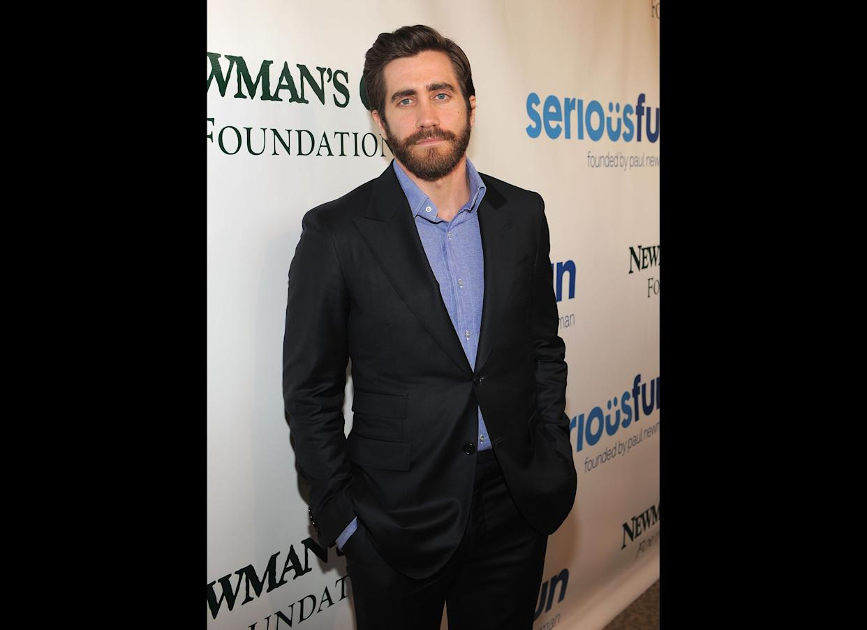 """""""'Cause I'm<strong> Jake Gyllenhaal</strong>/I'm in the hood with the bubble with a tall model broad like I took her from Russell/didn't play the cards I was dealt, I made the dealer re-shuffle"""" <br> --""""Looking for Trouble"""""""