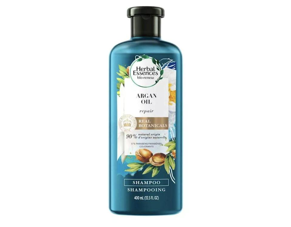 <p>This <span>Herbal Essences Bio:Renew Argan Oil of Morocco Repairing Shampoo</span> ($6) repairs hair with argan oil for a shinier, smoother appearance.</p>