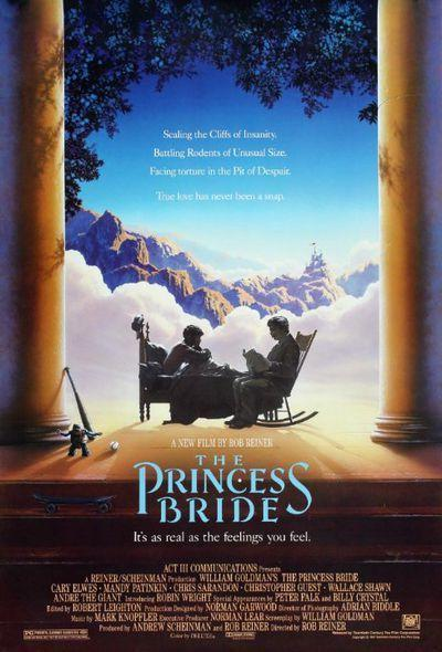 "<p>Haven't seen <em>The Princess Brid</em><em>e</em>? Inconceivable! This cult favorite follows the love story of Buttercup (<span class=""itemprop"">Robin Wright</span>) and Westley (<span class=""itemprop"">Cary Elwes</span>), who battle swashbuckling swordsmen with a revenge fixation, screaming eels, ROUSs (Rodents of Unusual Size), and even death for the chance to be together. It's also one of the most-quoted rom-coms of all time, so watch if you want to be in the know.</p><p><a class=""link rapid-noclick-resp"" href=""https://www.amazon.com/dp/B000VEPL2M?ref=sr_1_1_acs_kn_imdb_pa_dp&qid=1544048962&sr=1-1-acs&autoplay=0&tag=syn-yahoo-20&ascsubtag=%5Bartid%7C10055.g.3243%5Bsrc%7Cyahoo-us"" rel=""nofollow noopener"" target=""_blank"" data-ylk=""slk:STREAM NOW"">STREAM NOW</a></p>"
