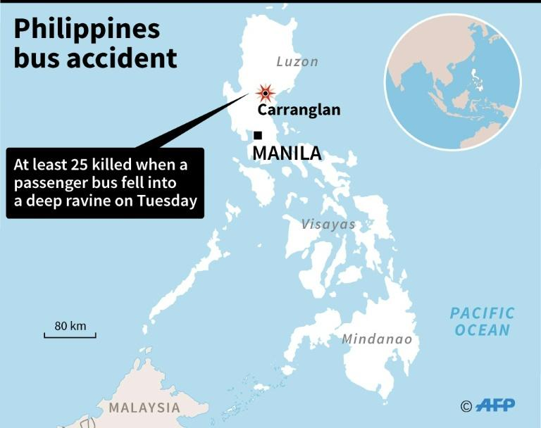 Philippines bus accident