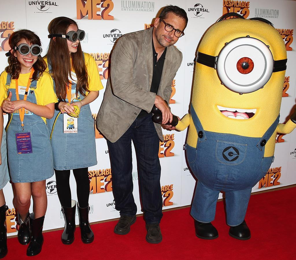"Steve Carrell properly introduced himself at the ""Despicable Me 2"" Australian premiere on Wednesday. Carrell voices the character ""Gru"" in the film. (6/5/2013)"