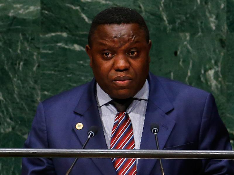 Mr Kalaba's resignation was intended to apply pressure on President Lungu, who is accused by his opponents of chasing an unconstitutional third term: Reuters