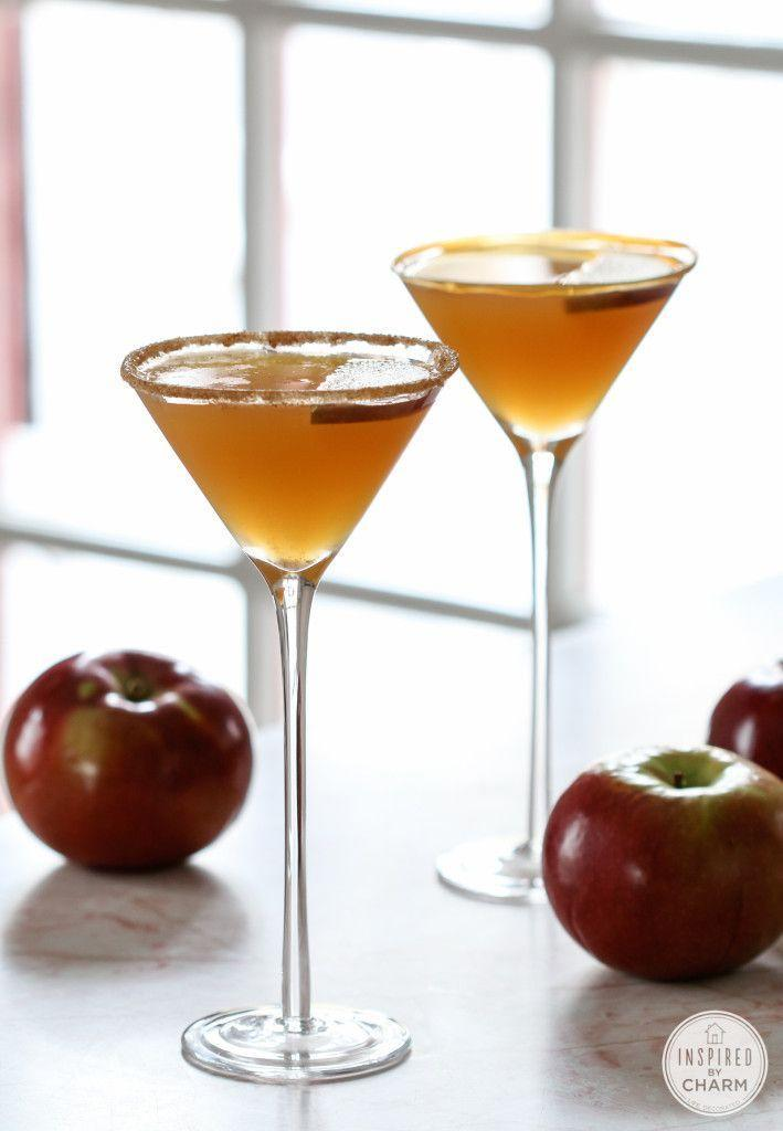 "<p>Apple martini's are even better with some caramel mixed in.</p><p>Get the recipe from <a href=""http://www.inspiredbycharm.com/2014/08/caramel-apple-martini.html"" rel=""nofollow noopener"" target=""_blank"" data-ylk=""slk:Inspired By Charm"" class=""link rapid-noclick-resp"">Inspired By Charm</a>.</p>"