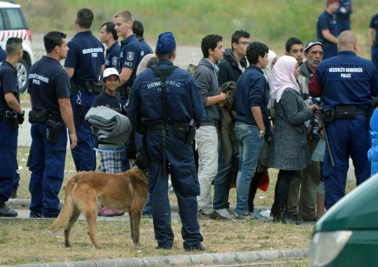 Conditions for migrants in Hungary have worsened since a law on the systematic detention of asylum seekers