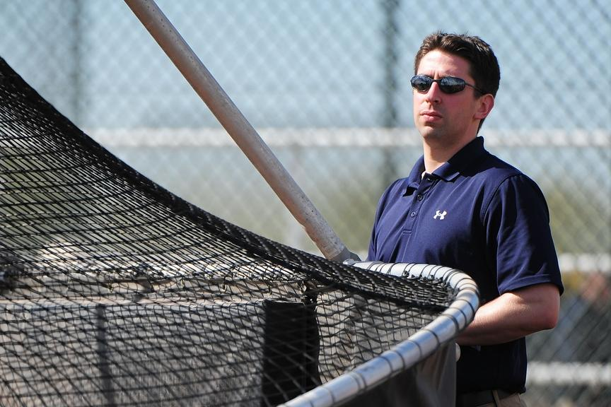 Indians GM Mike Chernoff