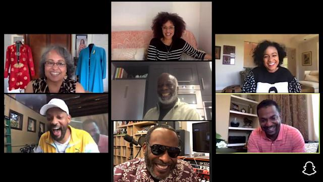 Fresh Prince' cast reunites on Will Smith's Snapchat series