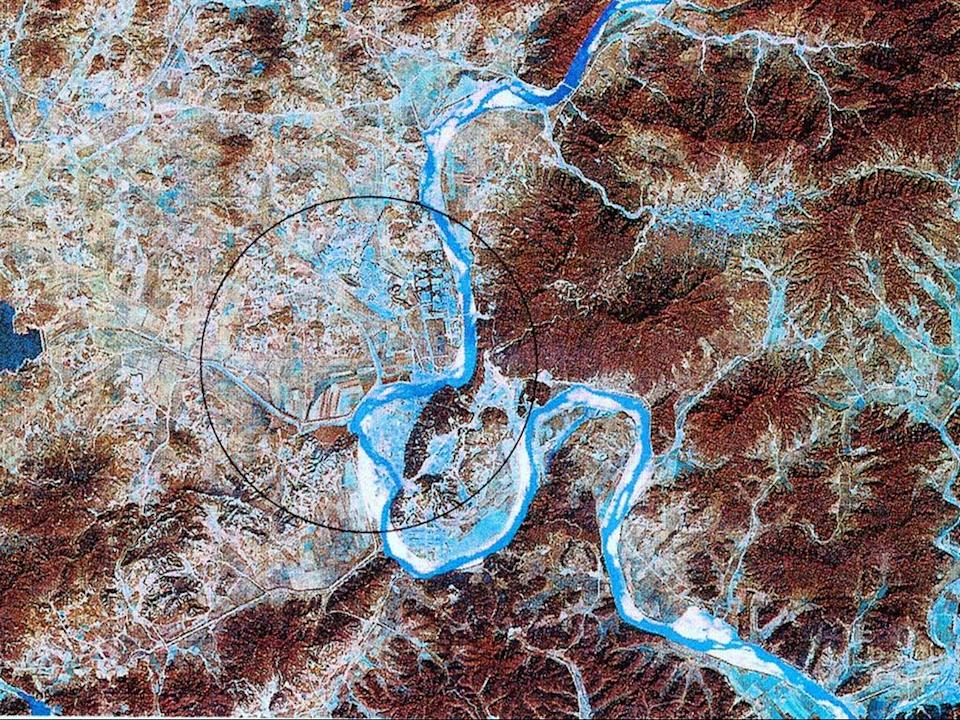 The Yongbyon facility has been at the heart of North Korea's nuclear programme for decades (Getty Images)